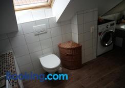 Walnut apartment with sauna and pond - Topoľčany - Bathroom