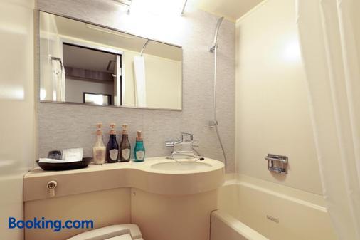 福山太陽酒店 - 福山市 - 浴室