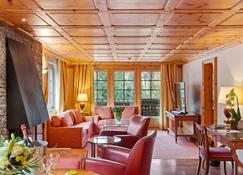 Grand Hotel Zermatterhof - צרמאט - סלון