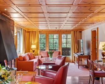 Grand Hotel Zermatterhof - Zermatt - Living room