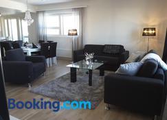 Penthouse Luxus City Apartments - Rovaniemi - Living room
