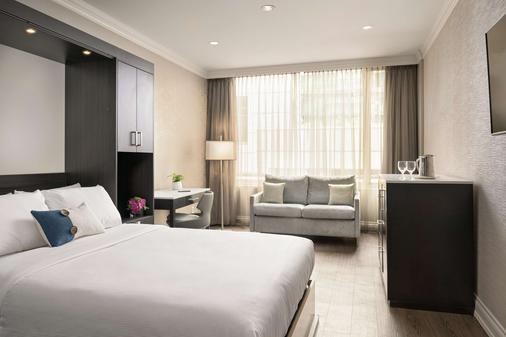 喬治亞廷酒店 - 溫哥華 - 溫哥華 - 臥室