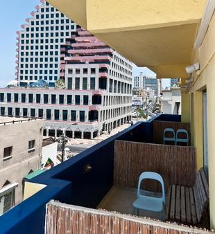 Hayarkon Hostel - Tel Aviv - Parveke