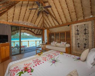 Bora Bora Pearl Beach Resort and Spa - Vaitape - Bedroom