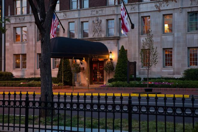 Hotel Lombardy - Washington - Edificio