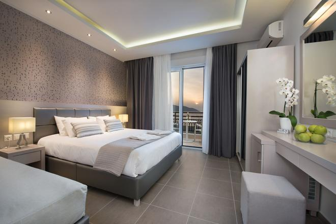 Angelica Hotel - Thasos Town - Makuuhuone