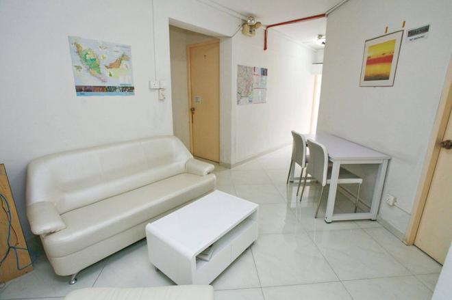 Lotus Hostel - Singapore - Living room