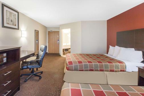 底特律機場羅繆勒斯旅行旅館 - 羅慕勒斯 - 羅穆盧斯 - 臥室