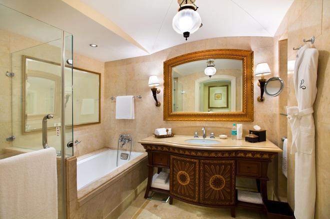 凱賓斯基里拉皇宮酒店 - 邦加羅爾 - 班加羅爾 - 浴室