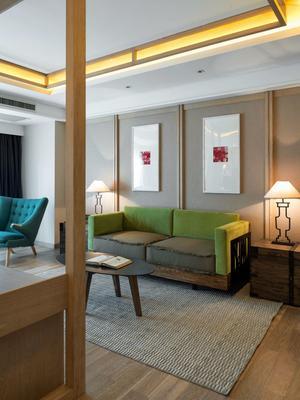 Harbin 22c Boutique Hotel - Harbin - Living room