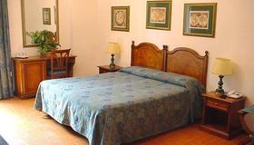ホテル シリウス - タオルミーナ - 寝室