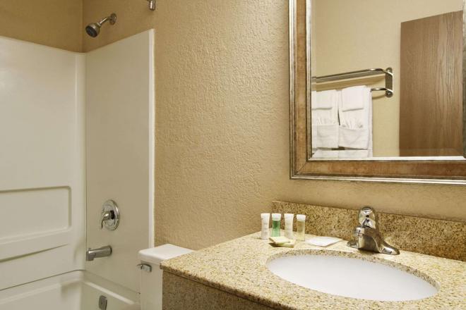 Super 8 by Wyndham Richmond Airport VA - Richmond - Bathroom