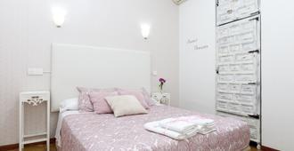 Hostal Hispano Gran Vía - Madrid - Bedroom