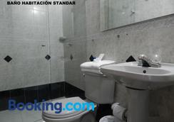 Hotel Tayrona Rodadero - Santa Marta - Phòng tắm