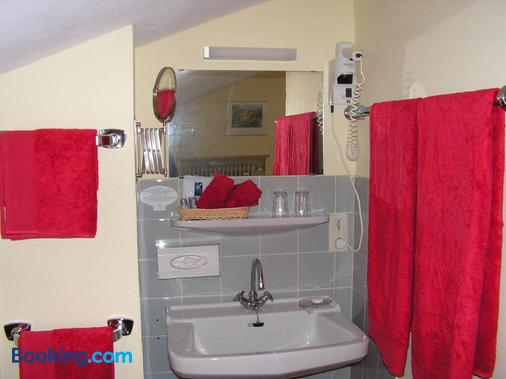 加尼豪斯阿爾卑斯酒店 - 魯波爾丁 - 浴室