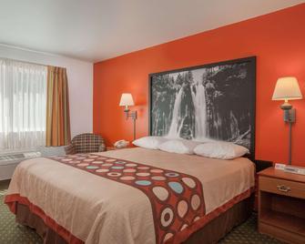 Super 8 by Wyndham Cloverdale - Cloverdale - Bedroom