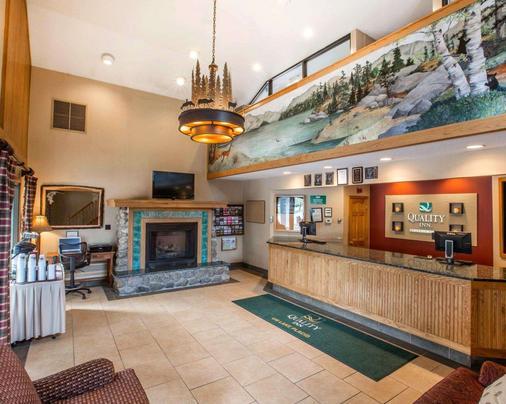 Quality Inn on Lake Placid - Lake Placid - Front desk