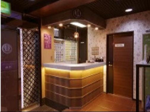 Capsule Land Yushima - Caters to Men - Tokyo - Front desk