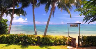 Coconut Grove Beachfront Cottages - Taveuni Island - Spiaggia
