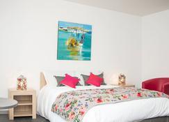 Chambres d'Hôtes Les Pirondeaux - Rocamadour - Bedroom