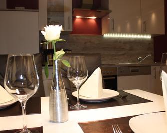 Ferienwohnungen Schlossblick - Braunfels - Dining room