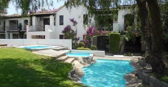 Hotel Hacienda Taboada - Aguas Termales - San Miguel de Allende - Piscina