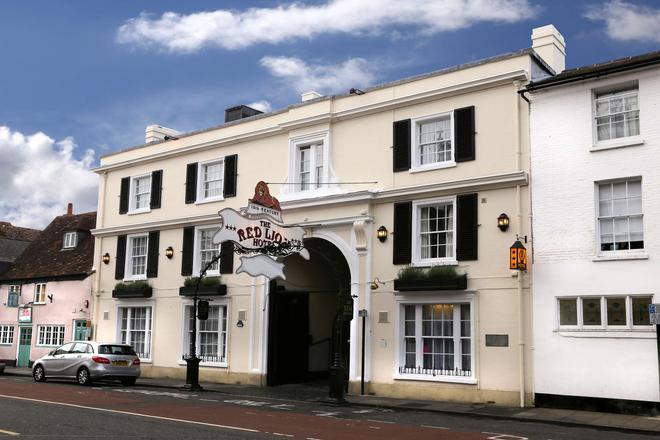 Best Western Salisbury Red Lion Hotel - Σόλσμπερι - Κτίριο