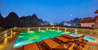 Yangshuo Tea Cozy Boutique Hotel - Yangshuo - Piscina