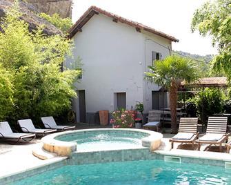 La Fête en Provence - Chambres - Entrechaux - Басейн