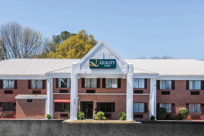 Quality Inn - Cedartown - Building