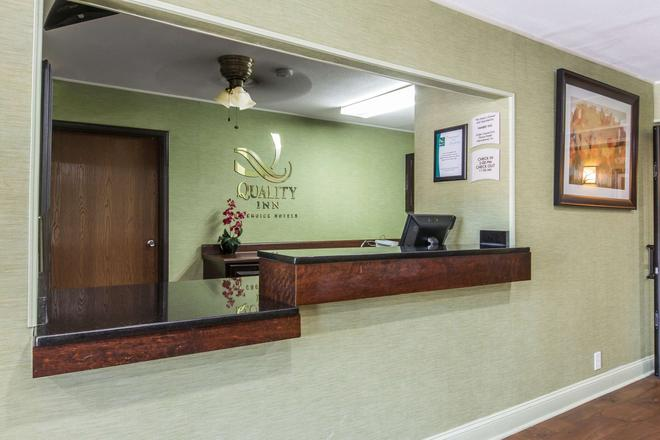 Quality Inn - Cedartown - Front desk