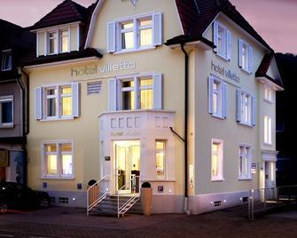Hotel Villetta - Grenzach-Wyhlen - Gebouw