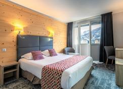 Hotel Vauban Briancon Serre Chevalier - บรีอ็องซง - ห้องนอน