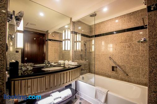 菲律賓鑽石酒店 - 馬尼拉 - 馬尼拉 - 浴室