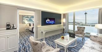 Riviera Hotel Macau - Macao - Sala de estar