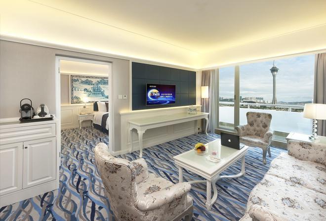 Riviera Hotel Macau - Macau - Living room