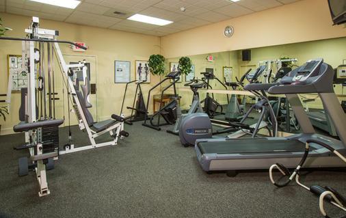 Coast International Inn - Ανκορέιτζ - Γυμναστήριο
