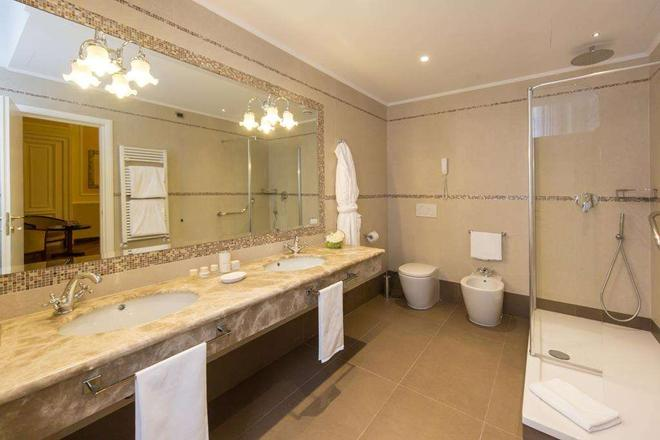Hotel Bristol Palace - Genoa - Bathroom