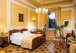 Hotel Bristol Palace - Genoa - Phòng ngủ