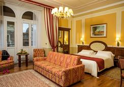 Hotel Bristol Palace - Genoa - Bedroom