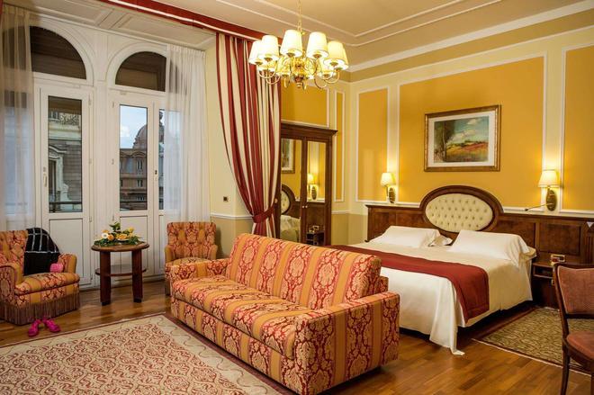 Hotel Bristol Palace - Genoa - Bedroom