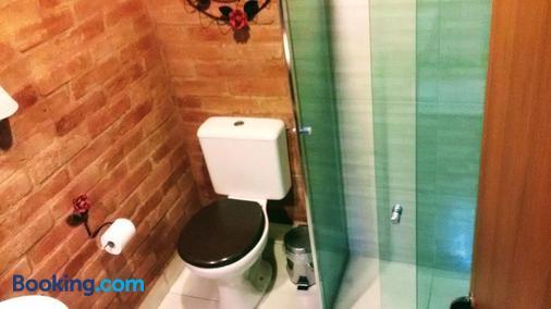 Ecos da Terra Chalés - Monte Verde - Bathroom