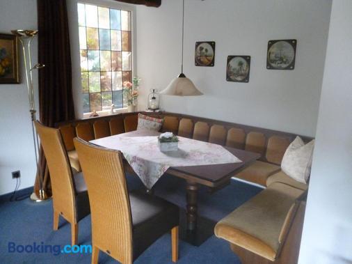 Frühstücks-Pension Haus Wernemann - Bad Rothenfelde - Dining room