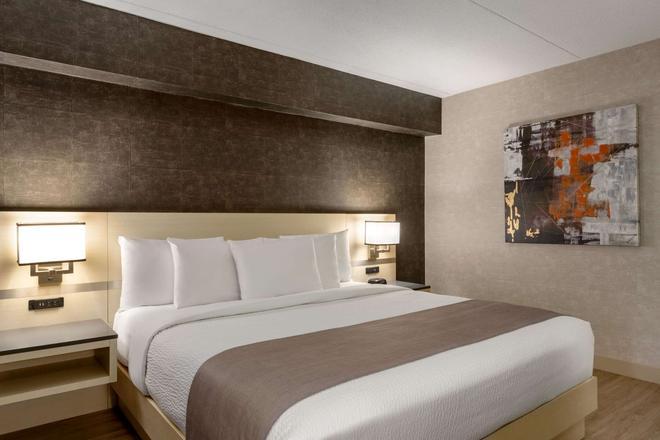 多倫多西米西索加戴斯酒店 - 密西索加 - 米西索加 - 臥室