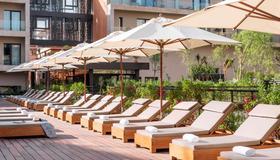 Radisson Blu Hotel, Marrakech Carre Eden - Marrakesch - Innenhof