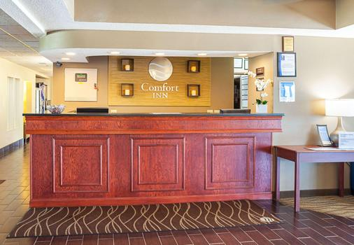 Comfort Inn - Lincoln - Front desk