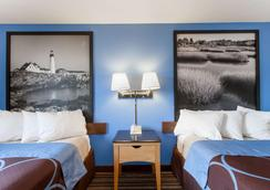 Super 8 by Wyndham Lewiston Auburn Area - Lewiston - Schlafzimmer