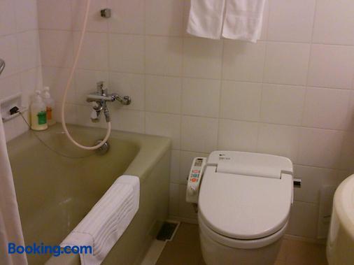 富山露台豪華飯店 - 富山 - 浴室