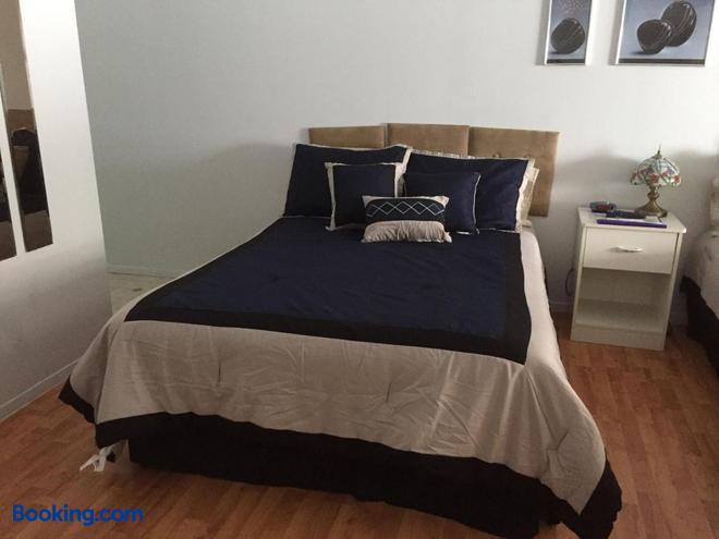 Motel Lac-Bouchette - Lac-Bouchette - Bedroom