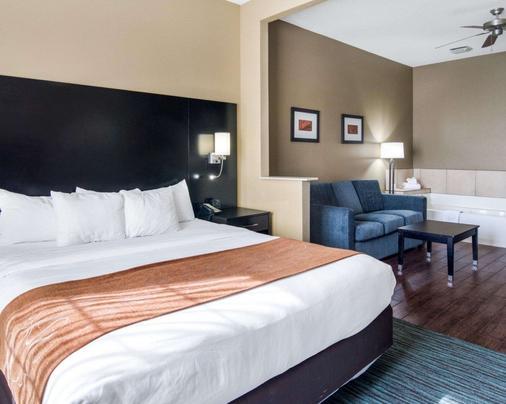 Comfort Suites Odessa - Odessa - Makuuhuone